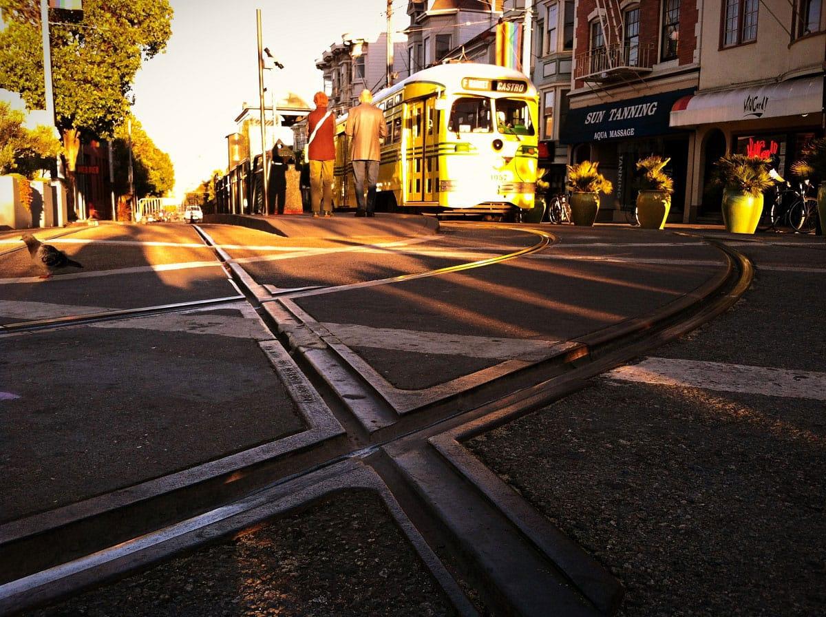 The F-line Streetcar - by Keith Breitbach
