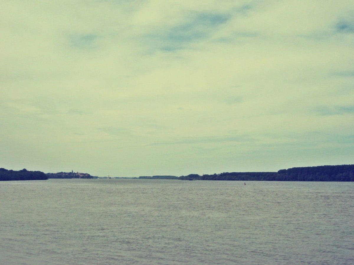 The confluence of the Sava with the Danube - by Vladimir Dulović