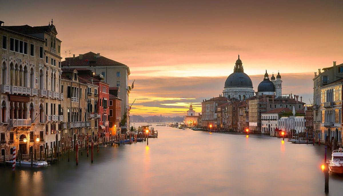 Venice Sunset - by Pedro Szekely