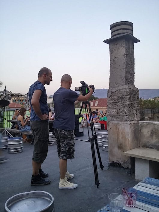 Video shoot Athens 6