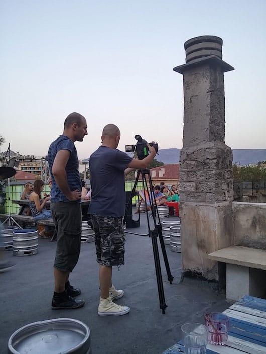 Video shoot Athens 6