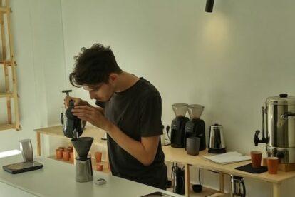 Vilnius - Coffee nerd Crooked nose