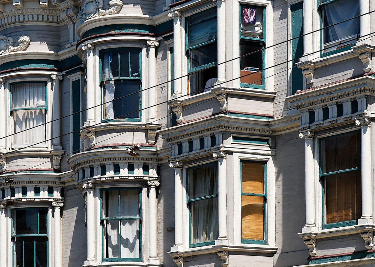 Windows on Haight Streets - by blupics (flickr.com)