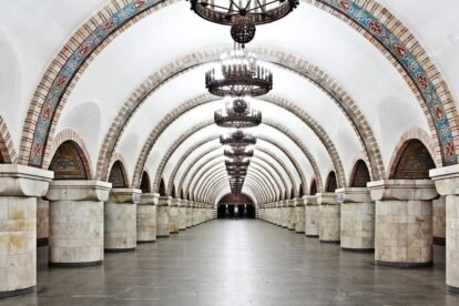 Zoloty Vorota Metro Station (by Oleg Tockij)