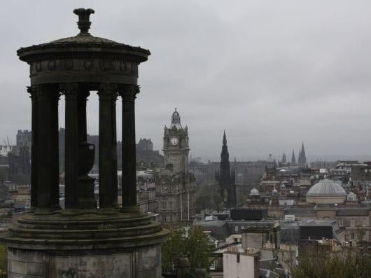 Calton Hill, Edinburgh (by Naia Lebrun)