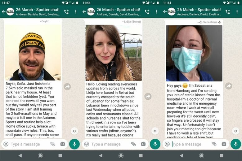Digital Spotter Meetings During COVID-19 Crisis
