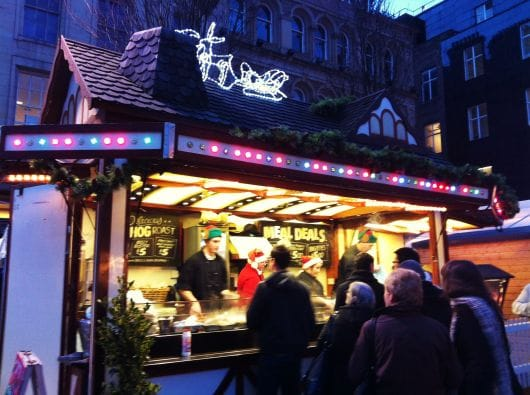 Christmas Continental Market, Glasgow (by Julia Forrest)