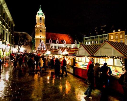 Bratislava's Old Town Christmas market, Bratislava (by Eva Lelkesova)
