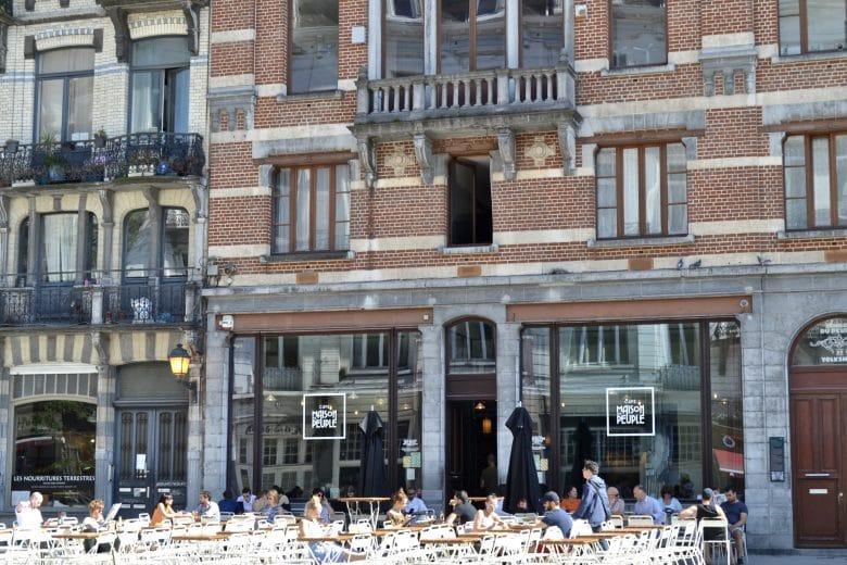 Maison du Peuple Brussels