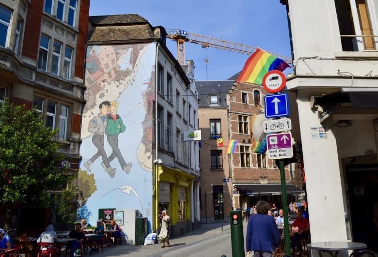 Comic Wall Brussels