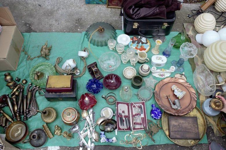 Zemun flea market Belgrade