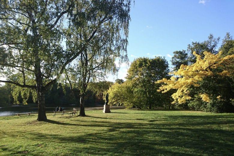 Skaryszewski Warsaw parks