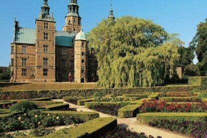 Kongens Have Park Copenhagen
