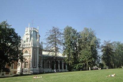 Tsaritsyno Moscow park