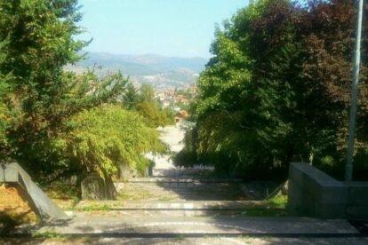 The Memorial Park Vraca Sarajevo