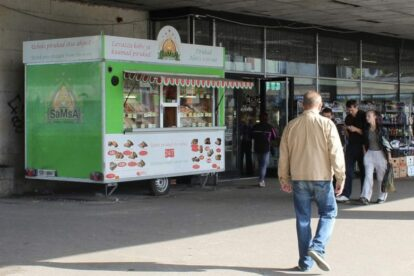 Kiosk Samsa Tallinn