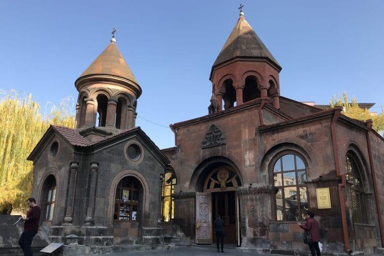 Zoravor S. Astvatsatsin Church Yerevan