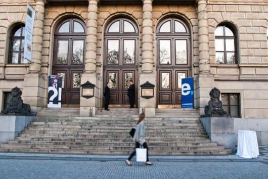 Galerie Rudolfinum  Prague (by Filip Grimm)
