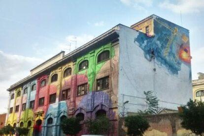 Graffiti in Via Ostiense (by Daniela d'Avanzo)