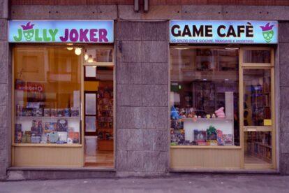 outside of jolly joker game cafe