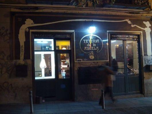 La Tetería de la Abuela, Madrid (by Cat Bethune)