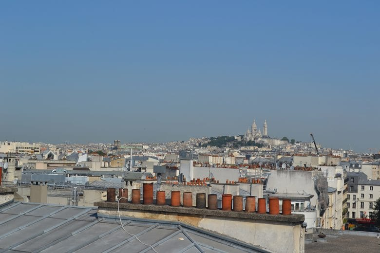 View from Hostel Les Piaules in Paris (by Adam Roberts)