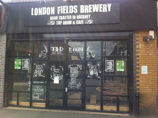 London Fields Tap Room, London (by Andrew Sidford)