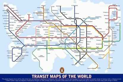 map metro subway world