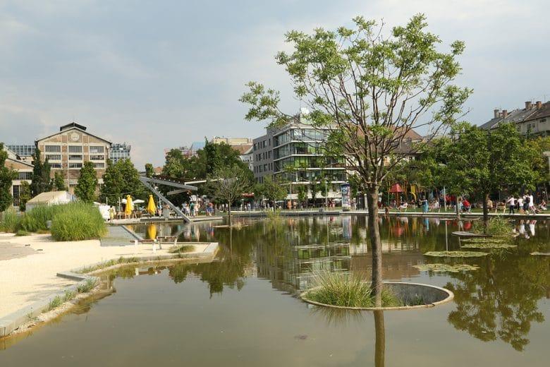 Millenaris Budapest parks