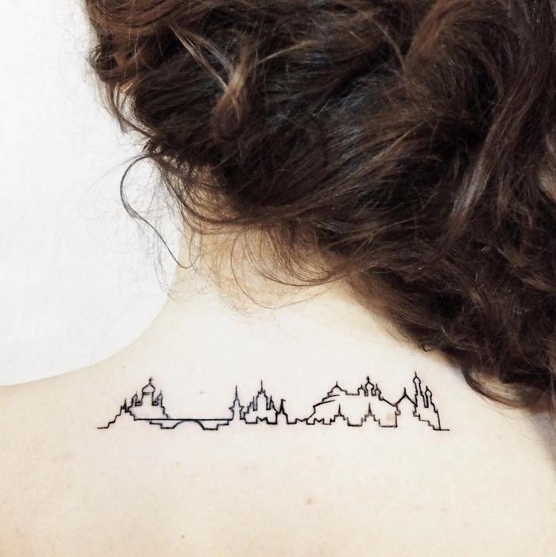 City Tattoos Inspiration for Travelers