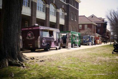 Navy Yard Food Truck Lineup (by Cara Jo Castellino)