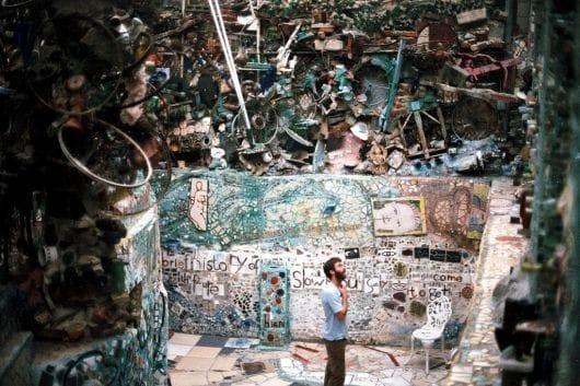 Philadelphia's magic garden (by Joao Kedal)