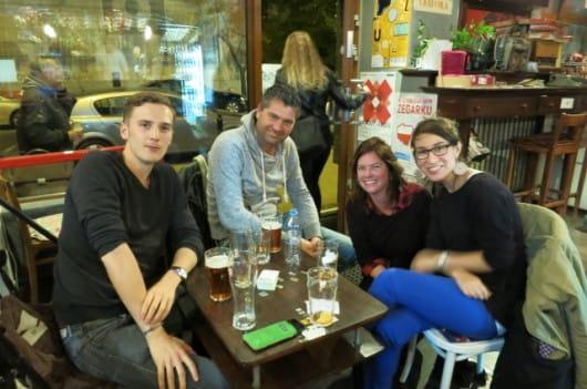 Warsaw Spotters meeting - Stefan, Sanne & Nitzan
