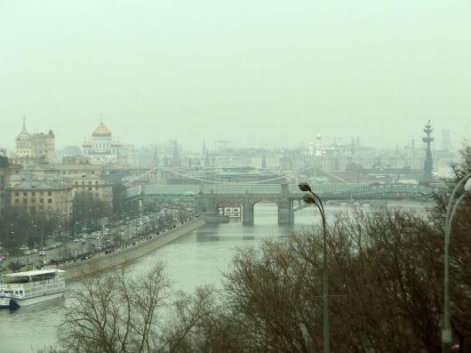 RAS Sightseeing Platform, Moscow (by Evgeniya Koroleva)