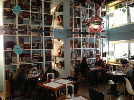 Respublica book/coffee shop (by Marina Usenko)