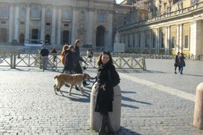 Sabrina al Vaticano