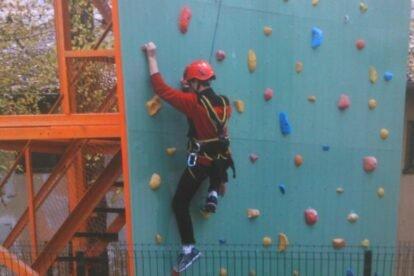 climbing facilities at safety zajiko centar
