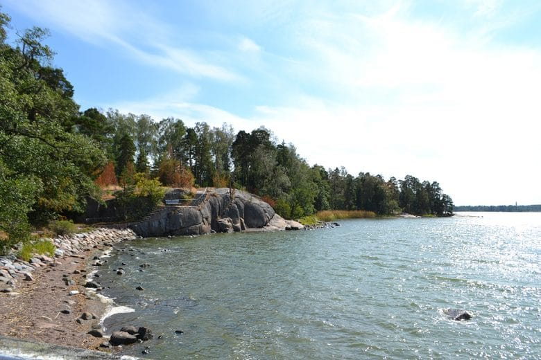 Seurasaari Helsinki beach