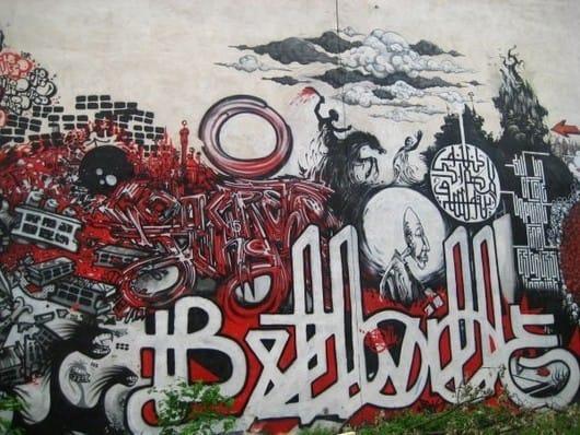 Street art Paris (by Adam Roberts)