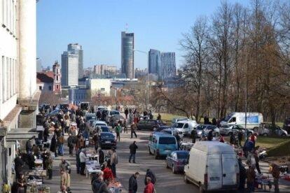 Tauras Hill Flea Markets Vilnius