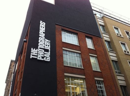 The Photographers Gallery London by Peter Hoffer