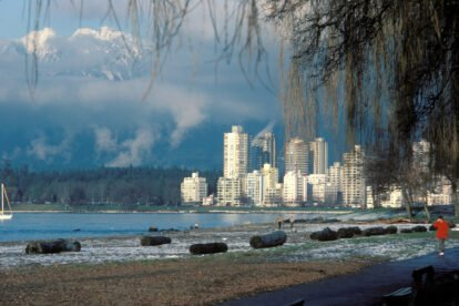 view on the buildings of Vancouver