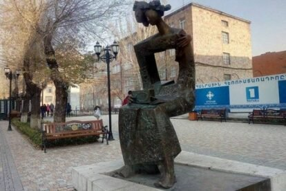 Singing Sculpture Yerevan