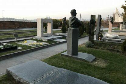 Komitas Park and Pantheon Yerevan
