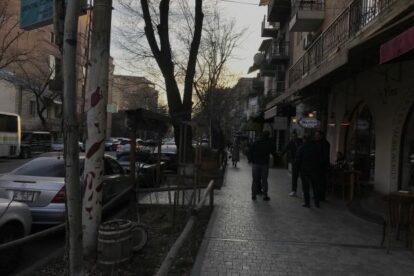 Saryan Street Yerevan
