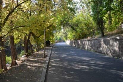 Hrazdan Gorge Yerevan