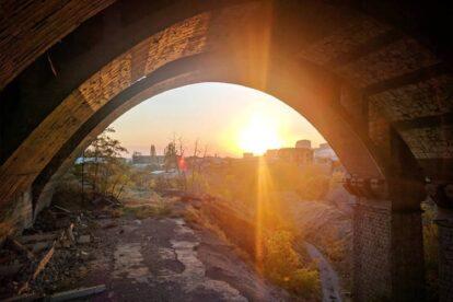The X-File Under Victory Bridge Yerevan