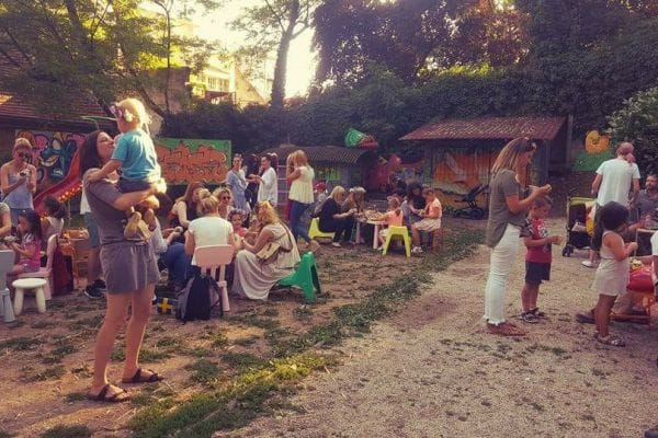 Art Park – Beer and culture on a playground