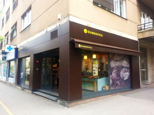 Dubravica bakery Zagreb