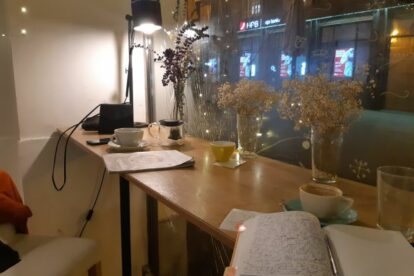 Express Bar – Excellent coffee and people watching